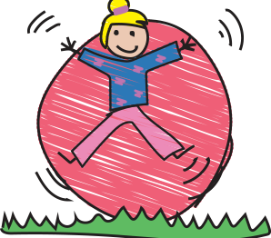Image of child jumping