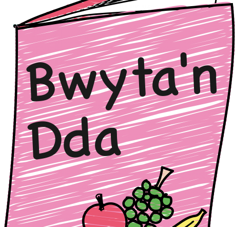 Image of book with Bwyta'n Dda on cover