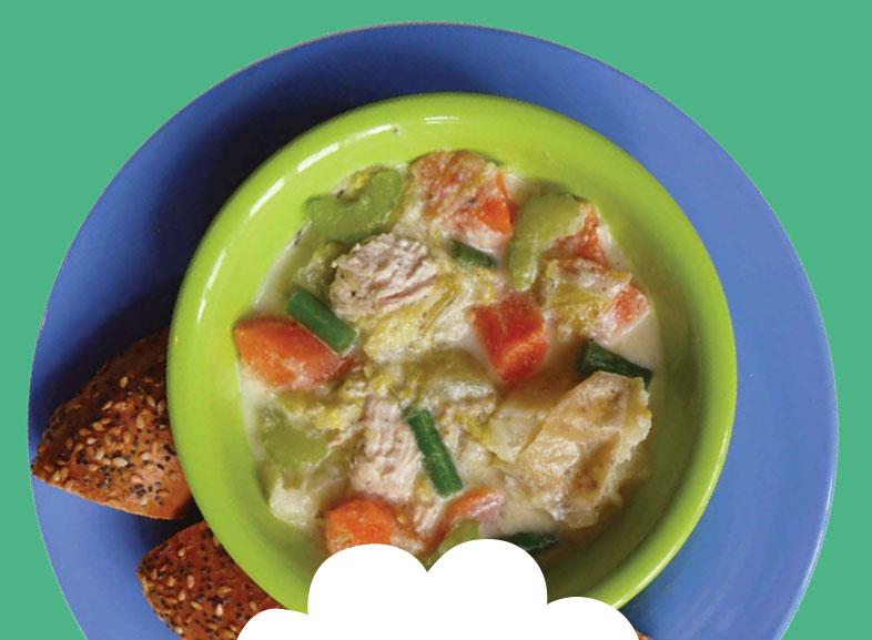 Creamy Chicken & Leek Hotpot  Image