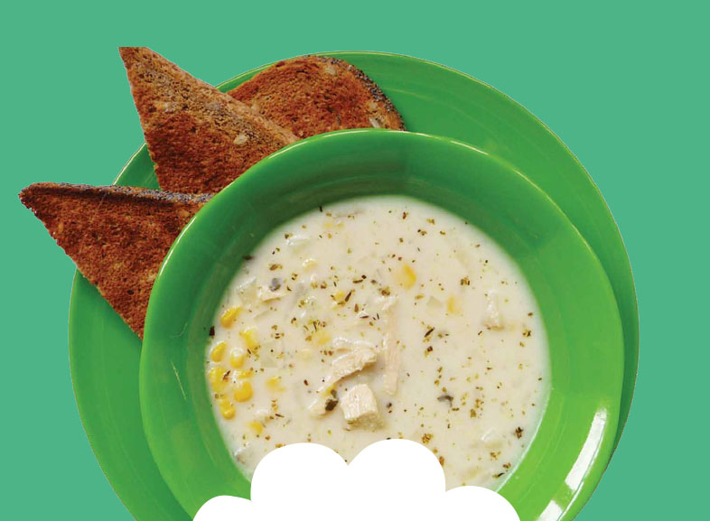 Chicken & Sweetcorn Soup Image